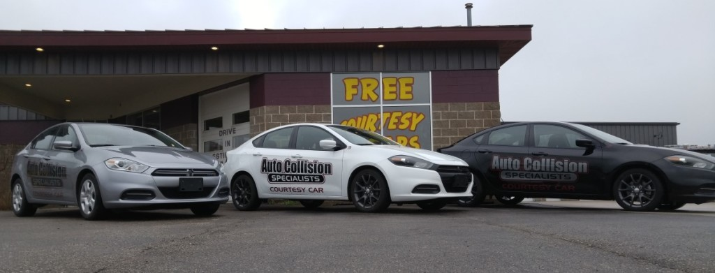 Courtesy Cars at Auto Collision Specialists